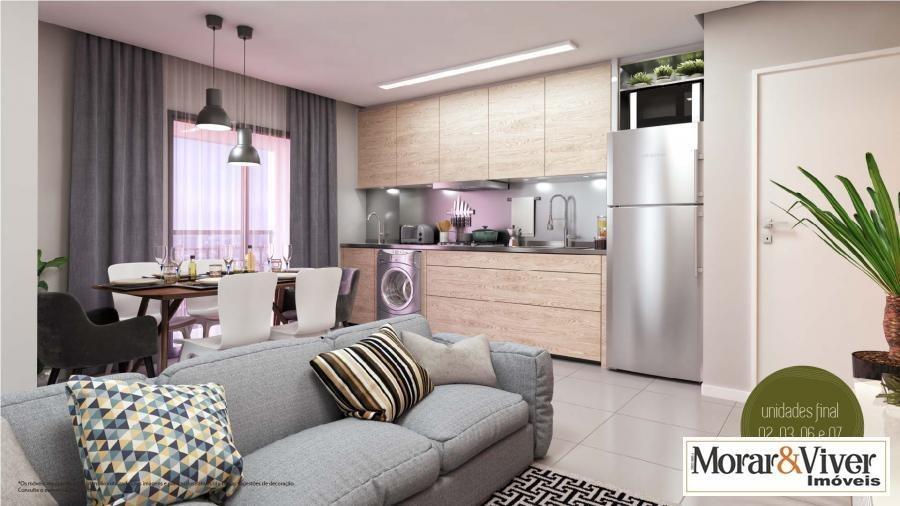 apartamento para venda em araucária, centro, 1 dormitório, 1 banheiro, 1 vaga - ara6330