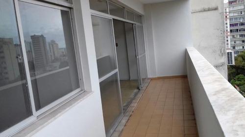 apartamento para venda em belém, batista campos, 3 dormitórios, 3 suítes, 5 banheiros, 1 vaga - v4261