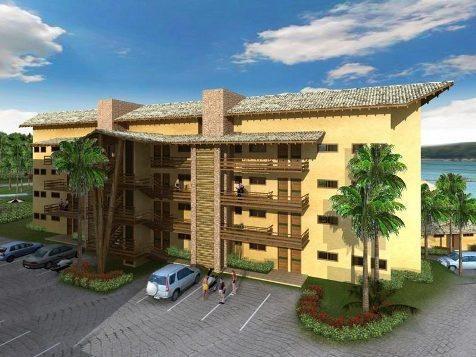 apartamento para venda em caldas novas, lago, 1 dormitório, 1 banheiro, 1 vaga - 080