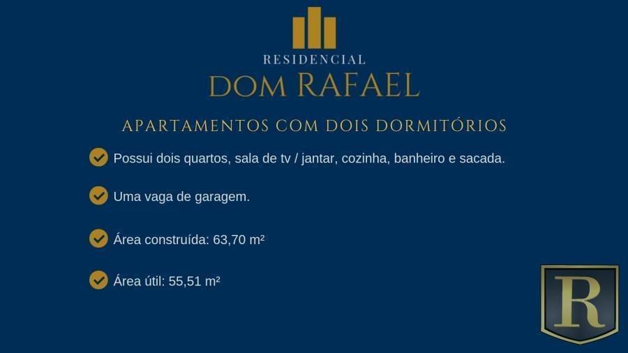 apartamento para venda em guarapuava, santa cruz, 1 dormitório, 1 banheiro, 1 vaga - _2-842864