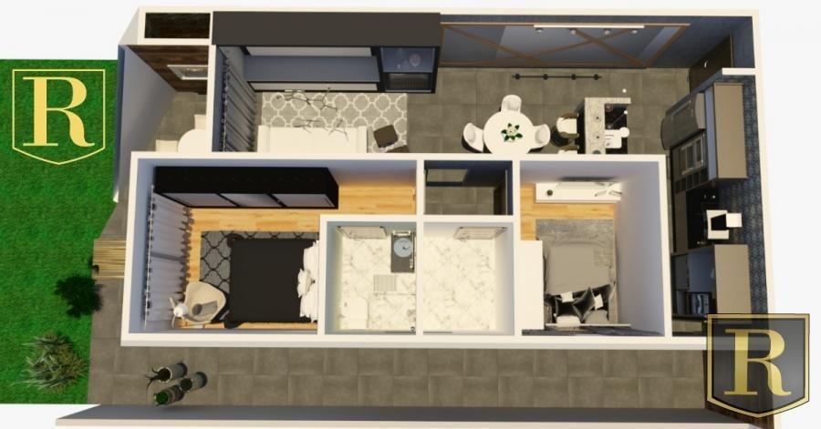apartamento para venda em guarapuava, santa cruz - _2-807064