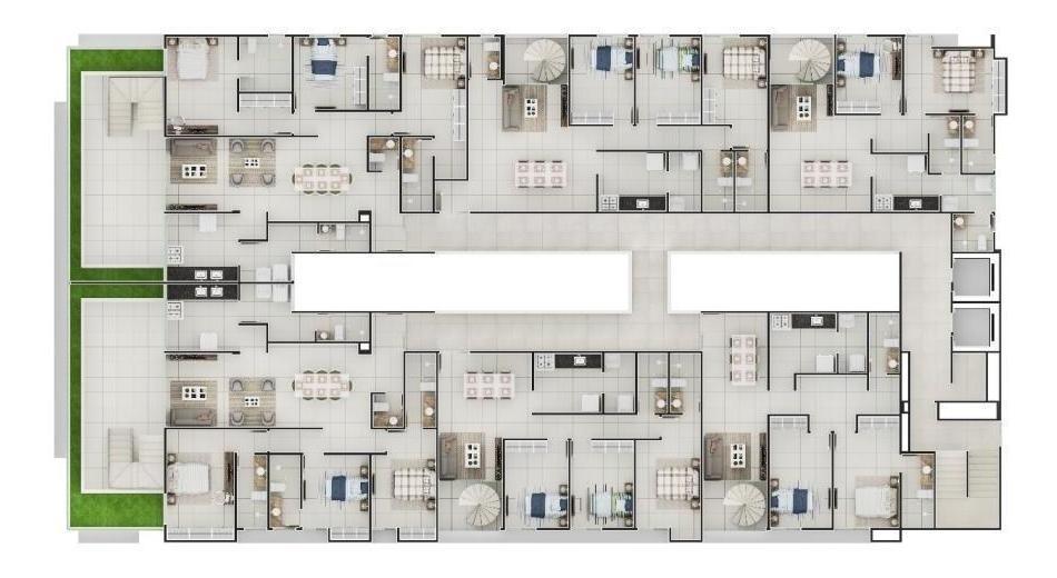 apartamento para venda em joão pessoa, cabo branco, 2 dormitórios, 1 suíte, 1 banheiro, 2 vagas - 7602