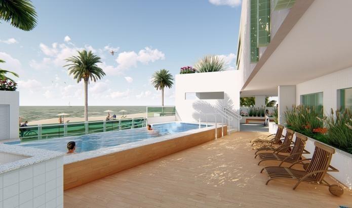 apartamento para venda em mongaguá, jardim luciana, 2 dormitórios, 1 suíte, 1 banheiro, 1 vaga - mg022_2-936416
