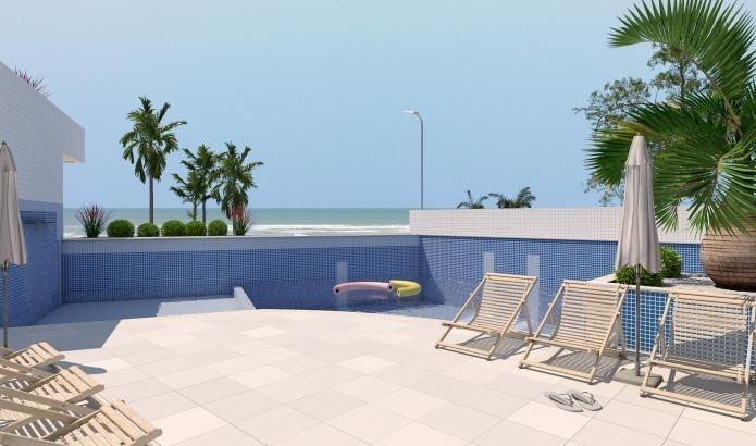 apartamento para venda em mongaguá, jardim praia grande, 2 dormitórios, 1 suíte, 1 banheiro, 1 vaga - mg018_2-936406