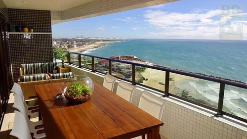 apartamento para venda em natal, areia preta, 4 dormitórios, 4 suítes, 5 banheiros, 4 vagas - porto atlântico