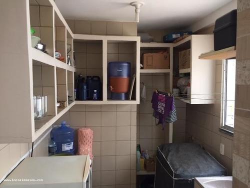 apartamento para venda em natal, candelária, 3 dormitórios, 1 suíte, 2 banheiros, 1 vaga - 1085096