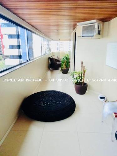 apartamento para venda em natal, candelária - frederich chopin, 4 dormitórios, 4 suítes, 6 banheiros, 3 vagas - ap1094-choppin