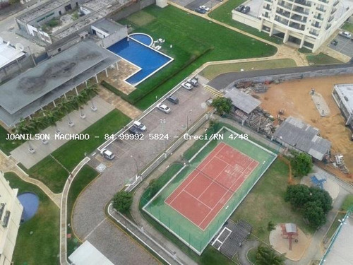 apartamento para venda em natal, candelária - golden green, 3 dormitórios, 2 suítes, 4 banheiros, 2 vagas - ap1058-golden green