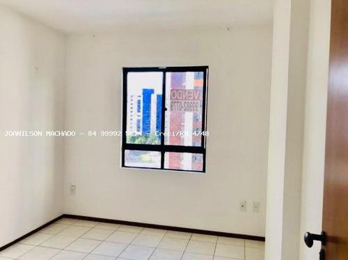 apartamento para venda em natal, candelária - solar candelária, 2 dormitórios, 1 suíte, 2 banheiros, 1 vaga - ap1151-solar candelária