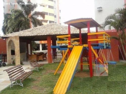 apartamento para venda em natal, capim macio - residencial olimpo, 3 dormitórios, 1 suíte, 2 banheiros, 1 vaga - ap0447-residencial olimpo