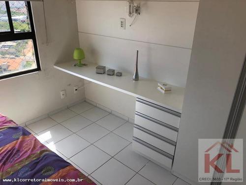 apartamento para venda em natal, pitimbu, 2 dormitórios, 1 suíte, 2 banheiros, 2 vagas - ka 0784