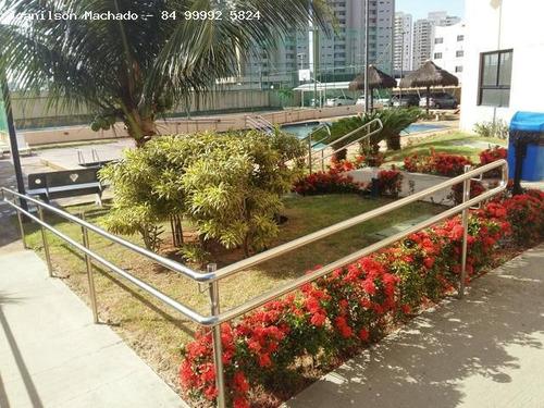 apartamento para venda em natal, pitimbu - sun towers, 2 dormitórios, 1 suíte, 2 banheiros, 2 vagas - ap0585