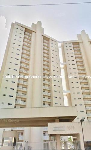 apartamento para venda em natal, pitimbu/satélite - natal brisa condomínio clube, 2 dormitórios, 1 suíte, 2 banheiros, 1 vaga - ap0963-natal brisa 2q