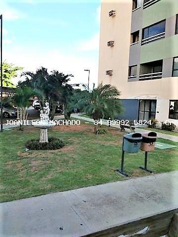 apartamento para venda em natal, pitimbu/satélite - sun garden, 2 dormitórios, 1 suíte, 2 banheiros, 2 vagas - ap01027-sun garden
