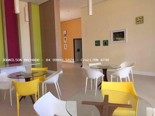 apartamento para venda em natal, ponta negra - portamaris condominium club, 3 dormitórios, 1 suíte, 2 banheiros, 2 vagas - ap1016-portamaris