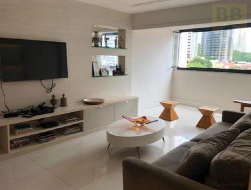 apartamento para venda em natal, tirol, 3 dormitórios, 3 suítes, 5 banheiros, 3 vagas - md 01