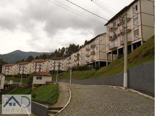 apartamento para venda em nova friburgo, cônego, 2 dormitórios, 1 banheiro, 1 vaga - 093
