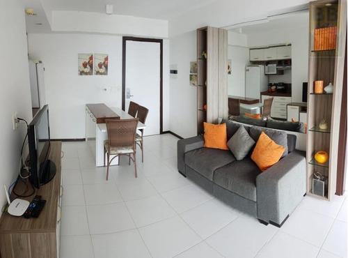 apartamento para venda em parnamirim, cotovelo (distrito litoral), 2 dormitórios, 2 suítes, 2 banheiros, 1 vaga - dunas cotov cob 2