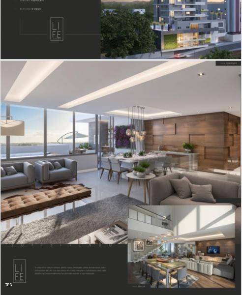 apartamento para venda em ponta grossa, estrela, 3 dormitórios, 1 suíte, 2 banheiros, 2 vagas - ecblifeti_1-1060743