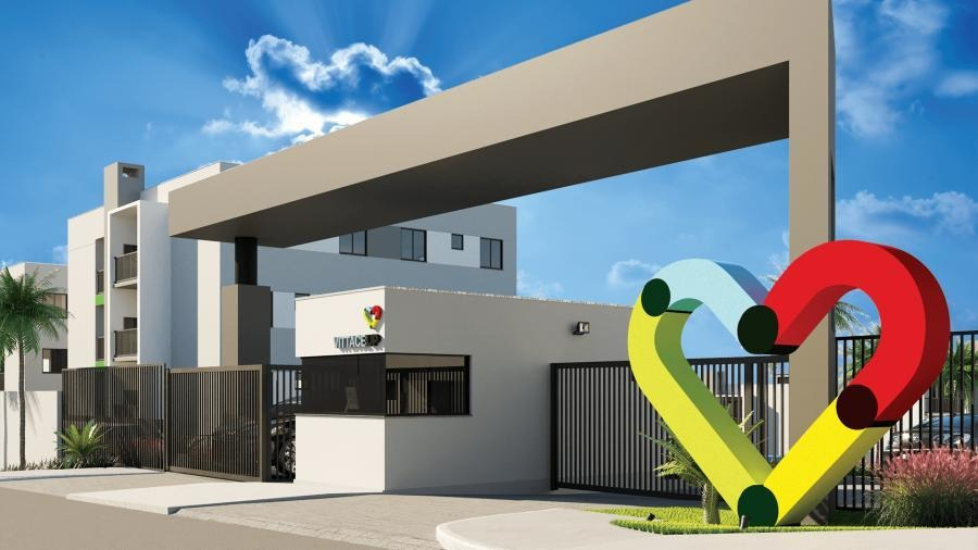 apartamento para venda em ponta grossa, oficinas, 2 dormitórios, 1 banheiro, 1 vaga - l-vitacce_1-1222984