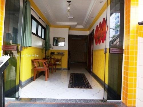 apartamento para venda em praia grande, ocian, 3 dormitórios, 1 suíte, 1 banheiro, 1 vaga - 67