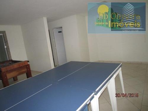 apartamento para venda em praia grande, vila tupi, 2 dormitórios, 1 suíte, 2 banheiros, 1 vaga - ap0144