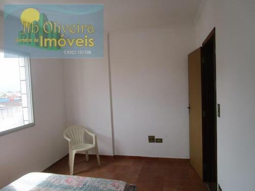 apartamento para venda em praia grande, vila tupi, 2 dormitórios, 1 suíte, 2 banheiros, 1 vaga - ap0247