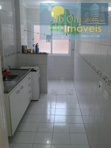 apartamento para venda em praia grande, vila tupi, 3 dormitórios, 1 suíte, 2 banheiros, 1 vaga - ap0029