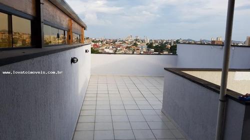 apartamento para venda em santo andré, jardim santo antônio, 2 dormitórios, 1 banheiro, 1 vaga - elx09918