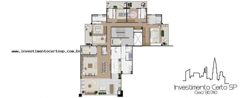 apartamento para venda em são paulo, vila mariana, 4 dormitórios, 4 suítes, 6 banheiros, 5 vagas - doppio_1-993408
