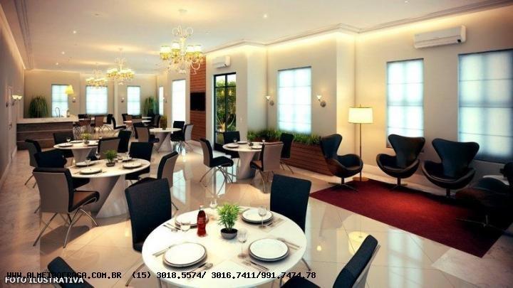 apartamento para venda em sorocaba, campolim, 3 dormitórios, 1 suíte, 2 banheiros, 2 vagas - 696