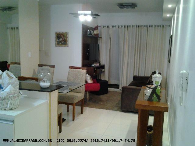 apartamento para venda em sorocaba, campolim, 3 dormitórios, 1 suíte, 2 banheiros, 2 vagas - 999_1-702262