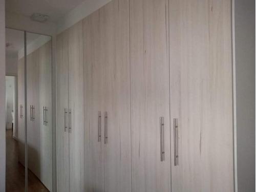 apartamento para venda em taboão da serra, jardim wanda, 2 dormitórios, 1 suíte, 1 vaga - 445