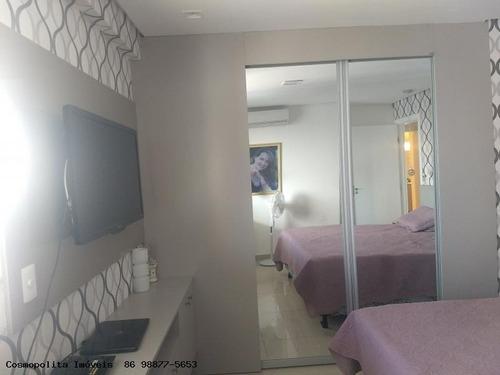 apartamento para venda em teresina, jóquei, 3 dormitórios, 3 suítes, 3 banheiros, 2 vagas - apto la madeleine mobiliado