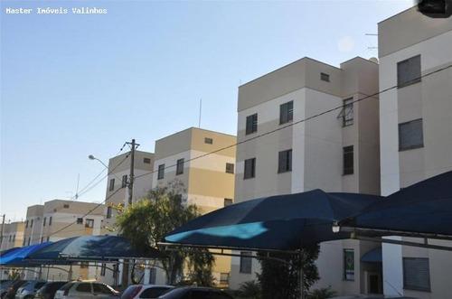 apartamento para venda em valinhos, jardim alvorada, 2 dormitórios, 1 banheiro, 1 vaga - apv 0082