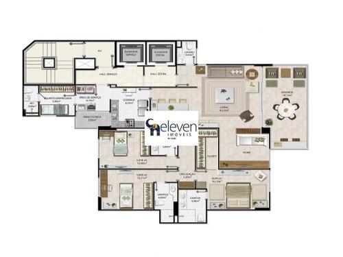 apartamento para venda federação, salvador ( são lázaro ) scenario 4 dormitórios sendo 2 suítes, 1 sala, 5 banheiros, 3 vagas 175,00 útil r$ 999.000,00 pronto pra morar - ap01384 - 32774689