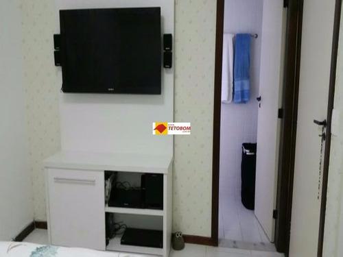 apartamento para venda graça, salvador 2 dormitórios sendo 2 suítes, - tjn600 - 3242592