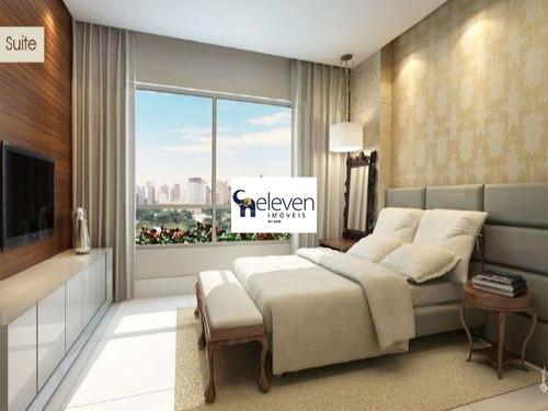 apartamento para venda  horto barcelona horto florestal, salvador 4 dormitórios sendo 4 suítes, 1 sala, 6 banheiros, 4 vagas 203,00 útil - ap00618 - 32328284