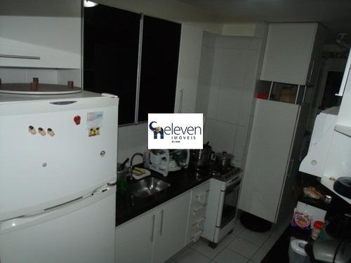 apartamento para venda imbui, salvador com: 3 dormitórios sendo 1 suíte, 1 sala, 1 banheiro, 2 vagas e 72 m² - ap00298 - 32097879