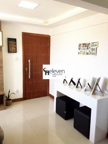 apartamento para venda matatu, salvador 2 dormitórios, 1 sala, 1 banheiro, 2 vagas, 49 m². - ap00071 - 32039544