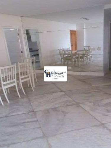 apartamento para venda na pituba, salvador vista mar com 3 quartos uma suite, sala, varanda, dependencias, cozinha, área de serviço, 2 banheiros, 2 vagas, 140m². - ap01686 - 32957065