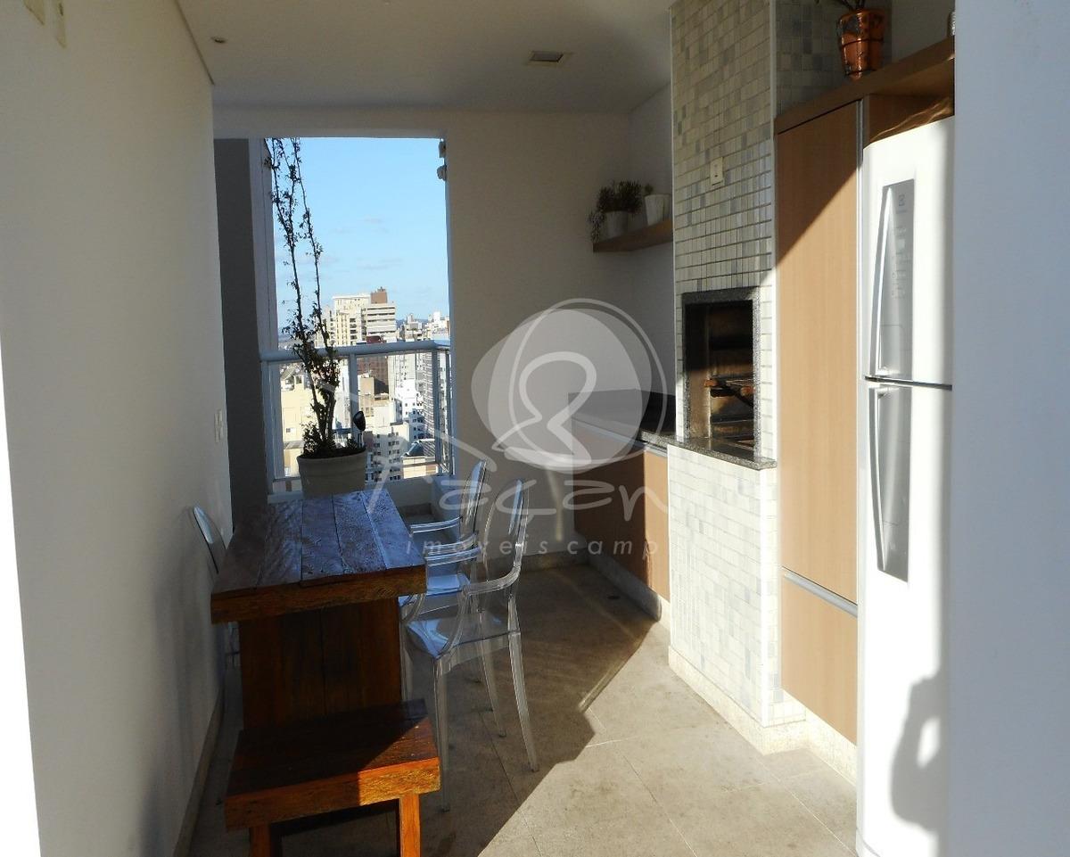 apartamento para venda na vila itapura em campinas - imobiliária em campinas - ap02507 - 32879486