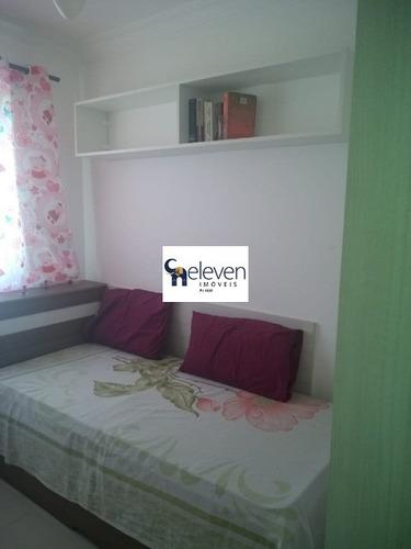 apartamento para venda no bairro de piatã, salvador com 2 quartos, sala, varanda, cozinha, banheiro, 1 vagas, 55 m². - ap01516 - 32833125