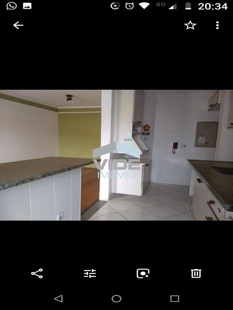 apartamento para venda no flamboyant com 2 dormitórios, 1 suíte com closet rico em armários, banheiro social, sala 2 ambientes com sacada, 1 vaga. - ap09261 - 33591870
