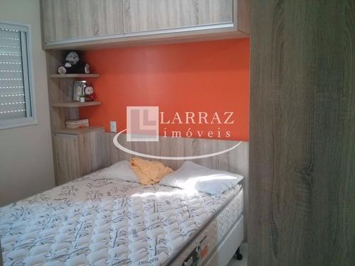 apartamento para venda nos campos eliseos, condominio mais, com 2 dormitorios, porcelanato, moveis planejados e ar condicionado - ap00302 - 4921553