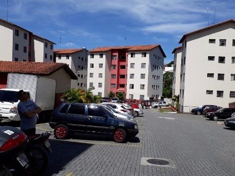 apartamento para venda ou permuta por imóvel em caraguatatuba, bairro parque santana, mogi das cruzes/sp no condomínio recanto dos pinheiros - ap00366 - 31976929