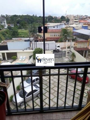 apartamento para venda piatã, salvador 2 dormitórios sendo 1 suíte, 1 sala, 1 banheiro, 1 vaga 75,00 útil  preço: r$ 255.000 - ap00357 - 32134277