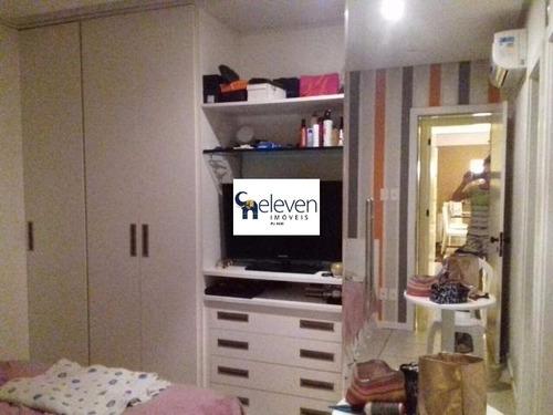 apartamento para venda pituba, salvador 2 dormitórios sendo 1 suíte, r$ 400.000,00, cond r$ 700,00, iptu r$ 100,00, 1 sala, gabinete,1 banheiro, 1 vaga, 85 m². - tnv7642 - 31954597