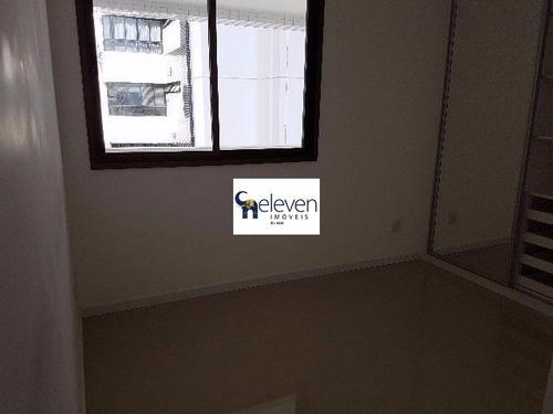 apartamento para venda pituba, salvador 2 dormitórios sendo 2 suítes, 1 sala, 1 banheiro, 2 vagas, 84 m². - ap00518 - 32253085