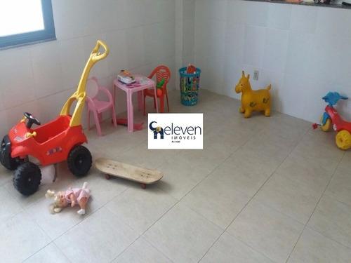 apartamento para venda pituba, salvador 2 dormitórios sendo 2 suítes, - tnv123 - 4205846